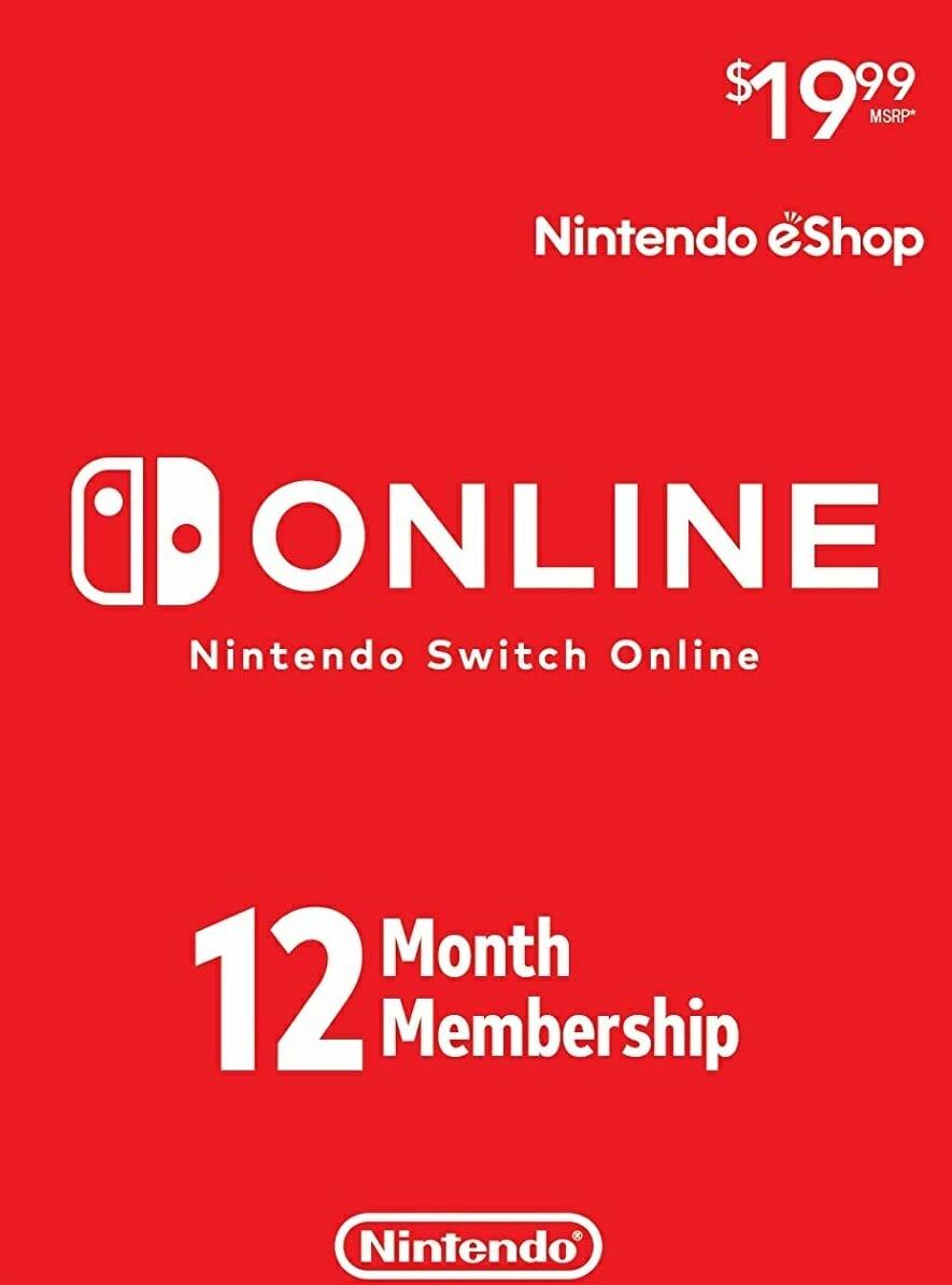 Nintendo Switch Online 12-Month Individual Membership [Digital US Code]
